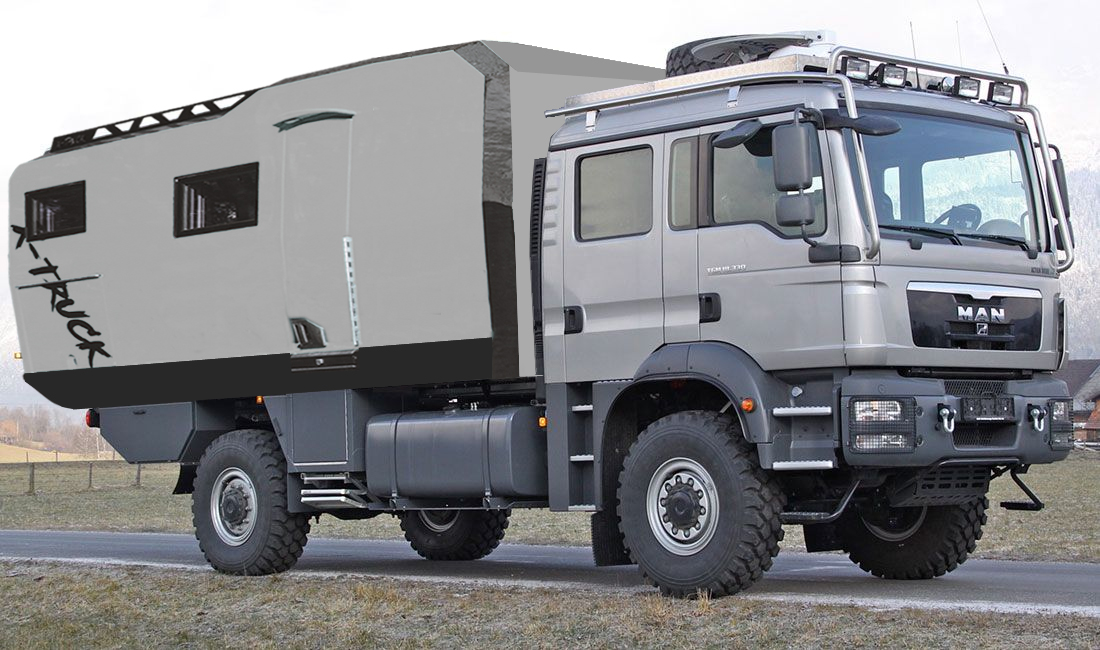 3C Cartier X Truck Man 4x4 Double Cab 2019