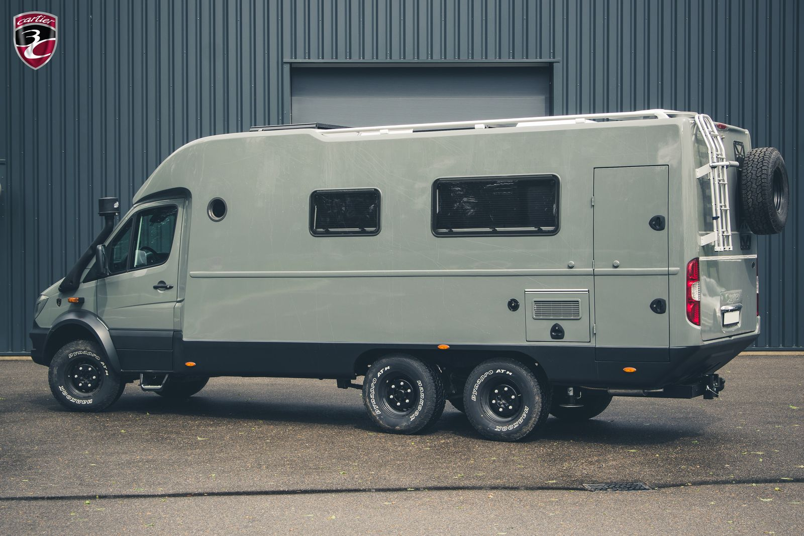 3C Cartier Mercedes Sprinter 6x6