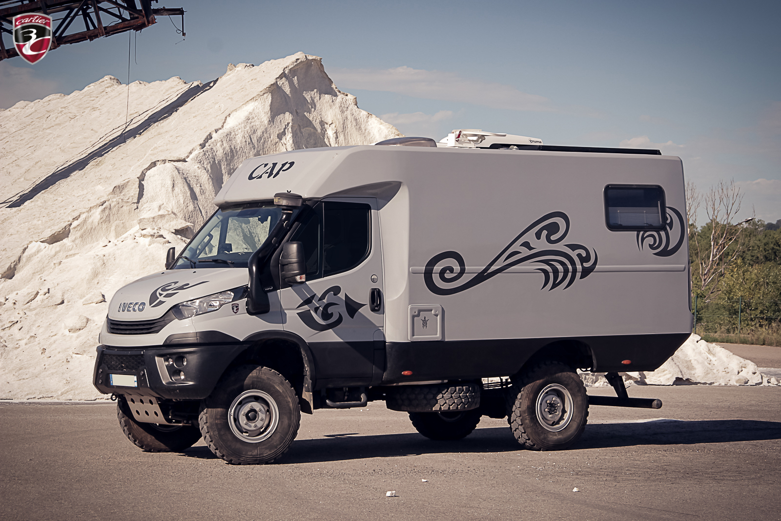 3C Cartier X-CAP Iveco Daily 4x4 tribal