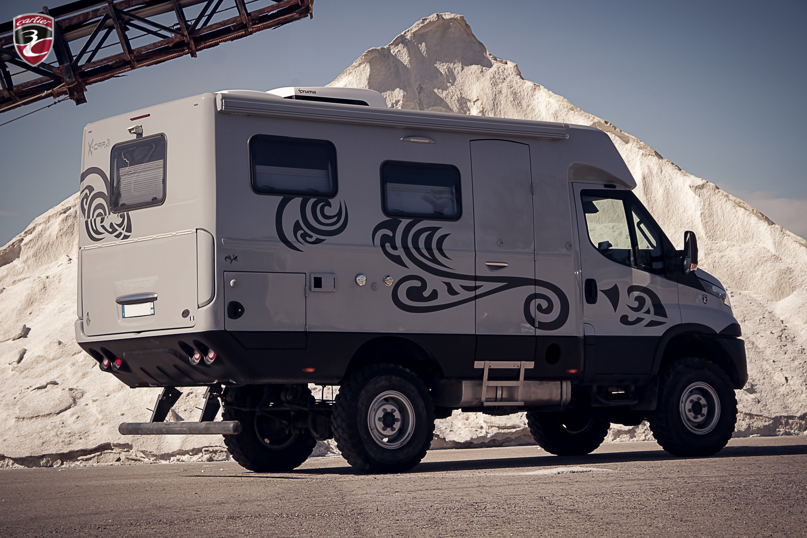 3C Cartier X-CAP Iveco Daily 4x4 tribal 2