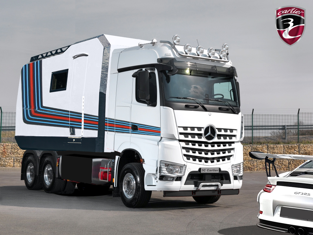 X Truck Mercedes Arocs Martini Racing