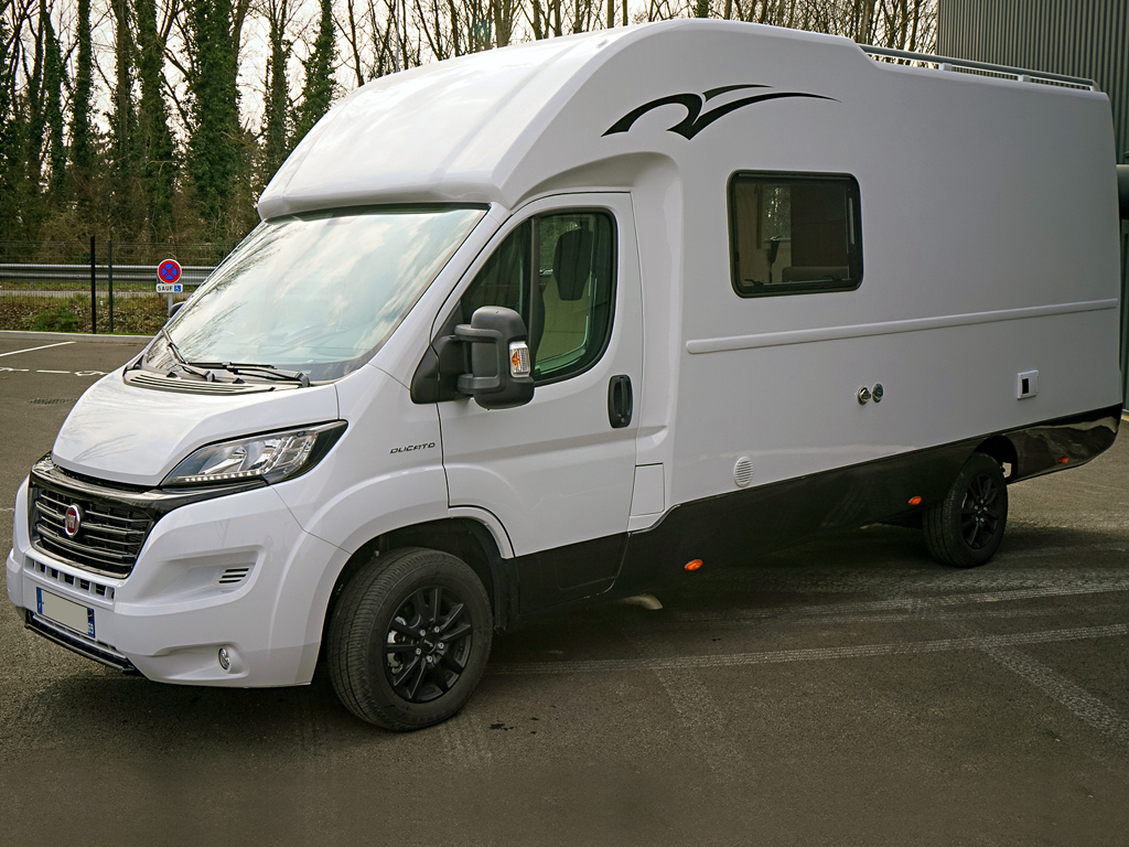 Camping-car route FIAT Ducato Campers 3C Cartier JAZZ II